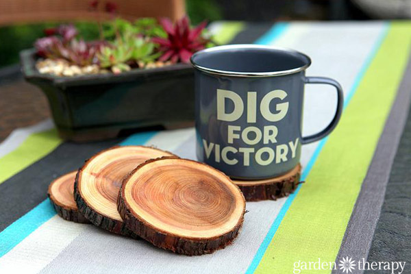 branch coaster diy gifts for boyfriend