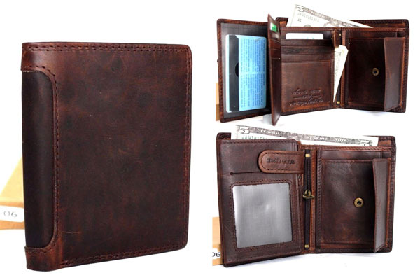 leather gifts for men wallet