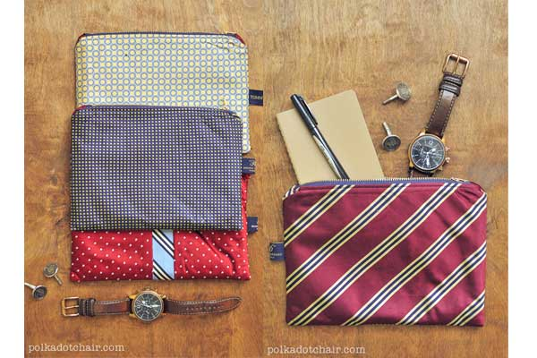 necktie pouch diy gifts for boyfriend