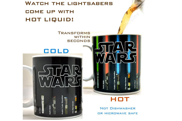 star wars gifts for him magic mug