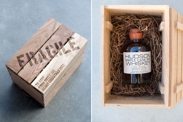 whiskey crate diy gifts for boyfriend