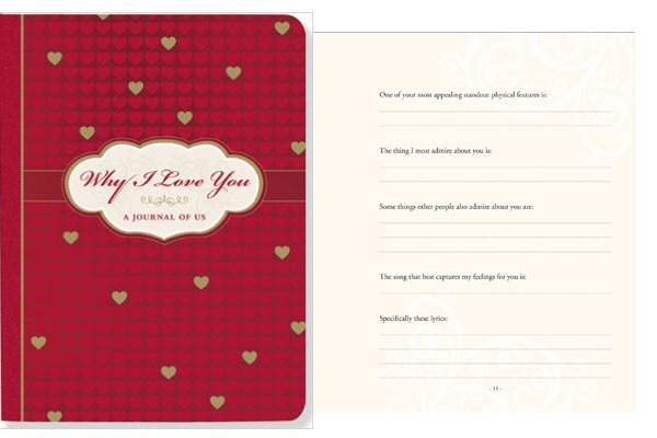 Romantic Birthday Gifts Ideas For Husband Tell Him Why You Love With The Help Of This Book