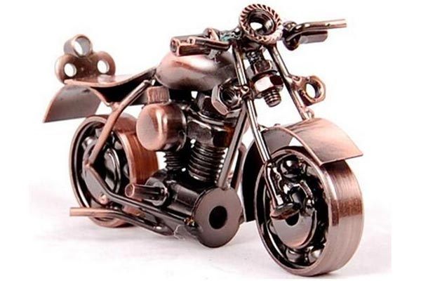 motorcycle copper-anniversary-gifts-for-men