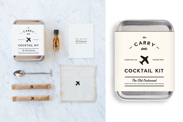 travel gifts for men cocktail kit