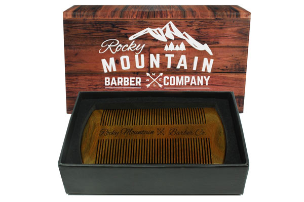 beard comb for his birthday
