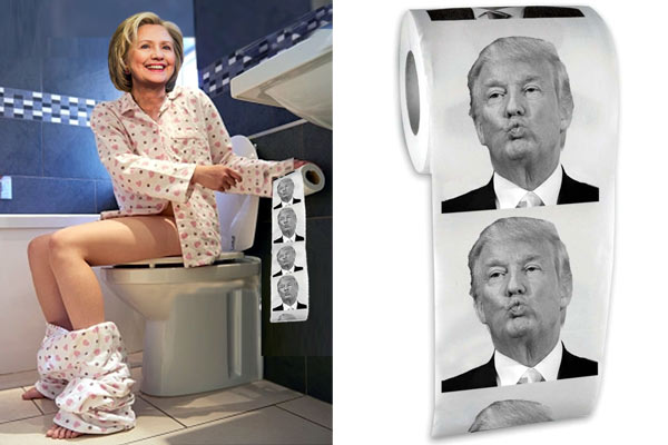 donald trump toilet paper gifts for him