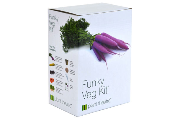 funky veg kit garden gifts for him