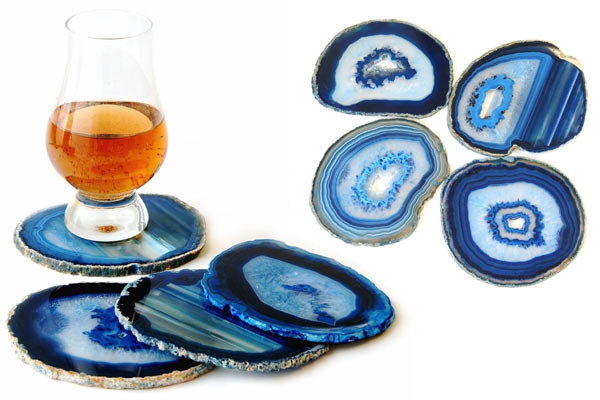 birthday gifts fro him agate coaster