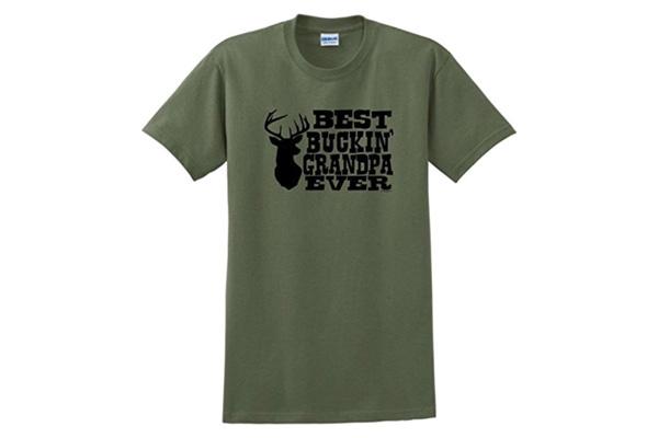 tshirt for grandpa who loves hunting