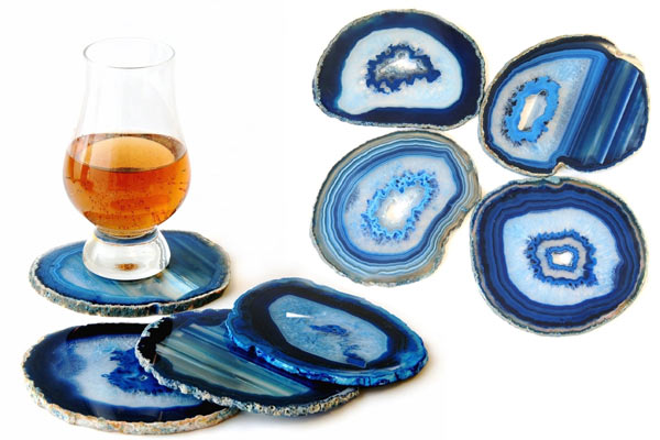 best birthday present for boyfriend agate coaster