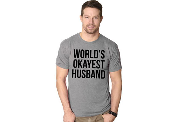 birthday gifts for husband from wife t shirt