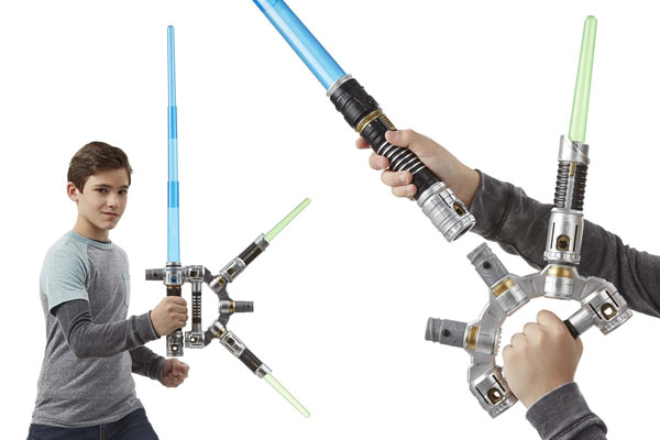 birthday present for boys lightsaber