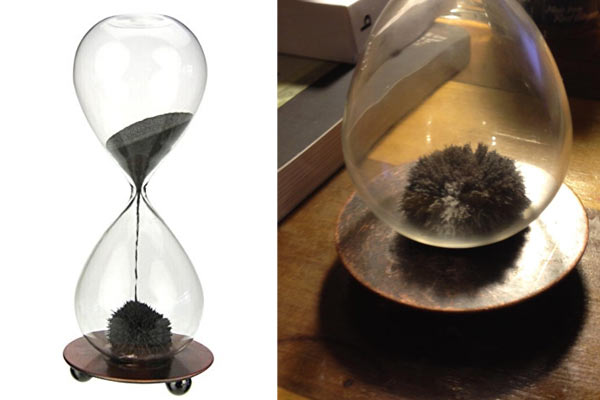 creative birthday gifts for men magnetic hourglass