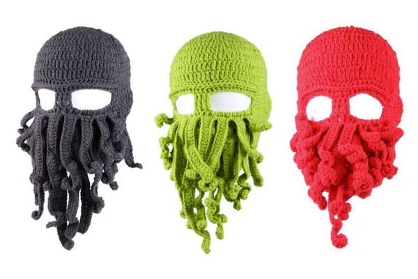 creative gifts for him octopus beanie