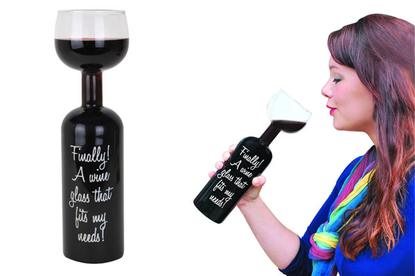 creative gifts for men wine glass