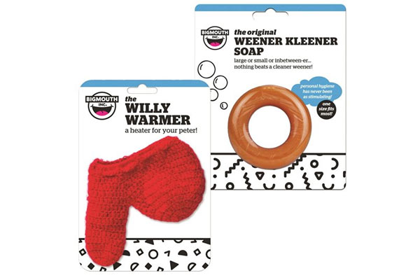 quirky gifts for boyfriend willy warmer