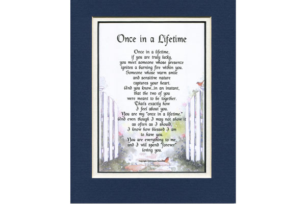 romantic birthday gifts for him poem