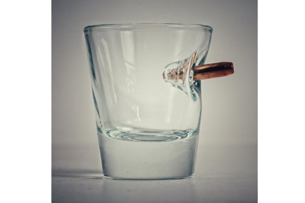 unusual birthday gifts for him shot glass