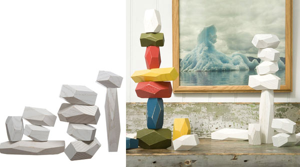 unusual gifts for men balancing rocks