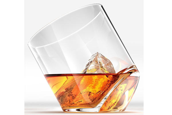 Whiskey Glass Gift Set rocker shot glasses