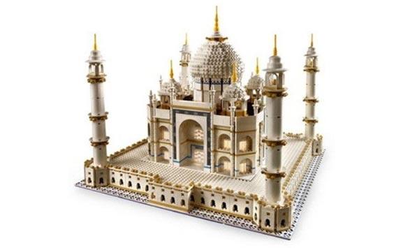 best gift for an architect taj mahal lego model