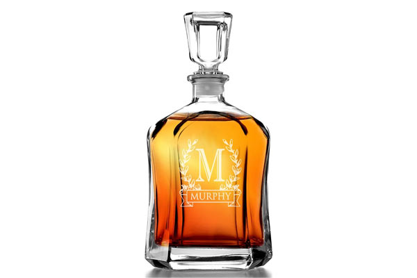 best gift for husband on his birthday personalized decanter