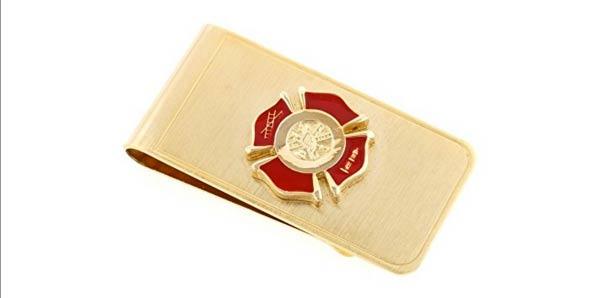 firefighter gifts for men money clip