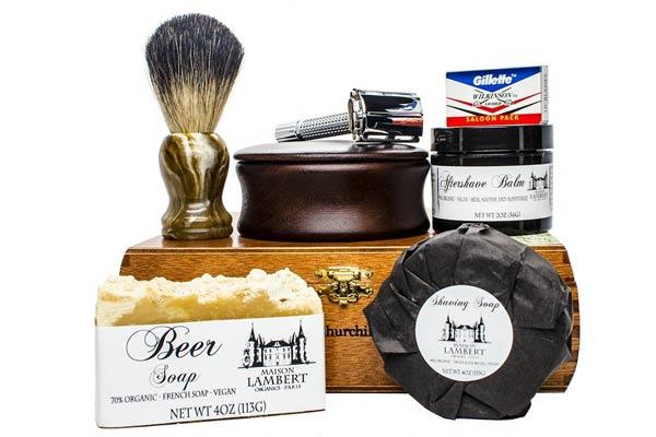 firefighter gifts for men shaving kit