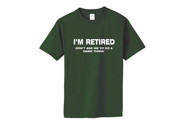 firefighter retirement gifts t shirt retired