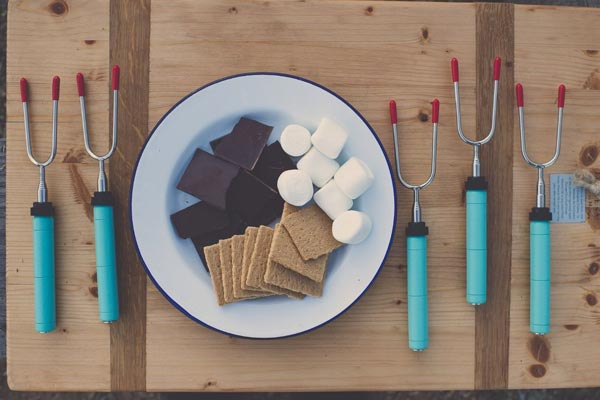 fun gifts for him marshmellow barbeque stick