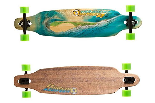 gifts for skateboarders deep waves skateboard