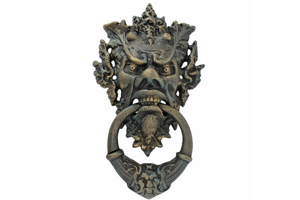 good housewarming gifts for guys angry man door knocker