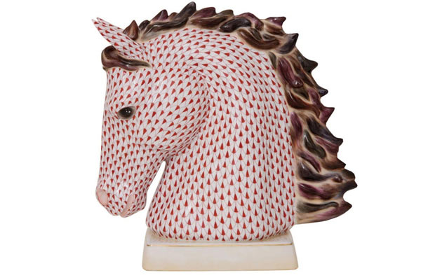horse gifts for him herend horse figurine