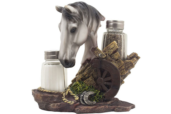 horse gifts for him spice rack