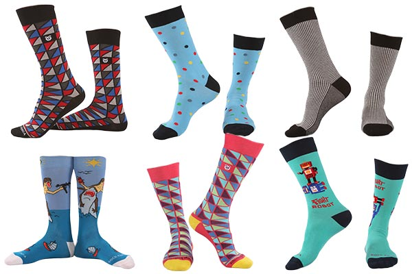 monthly gift subscriptions for men sockpanda