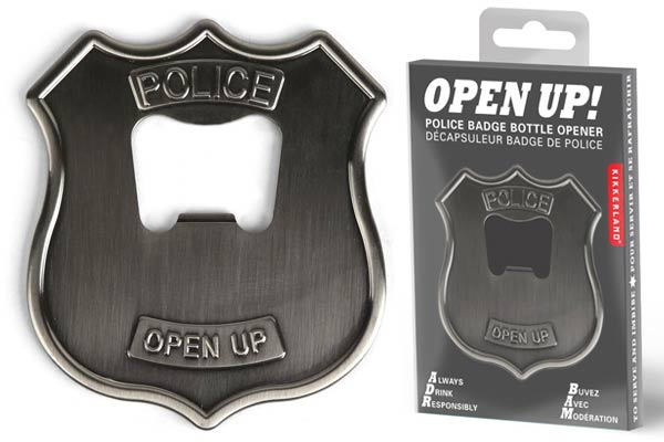 police officer gifts ideas bottle opener