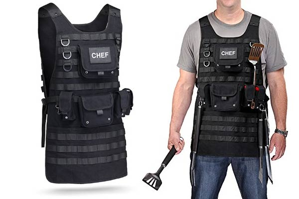 police officer gifts ideas grilling apron