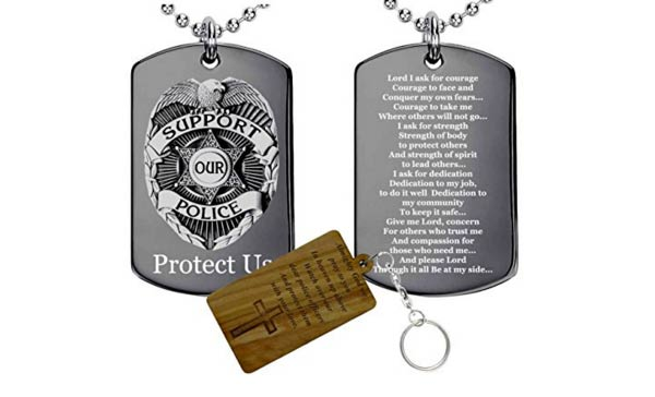 police officer gifts ideas tag