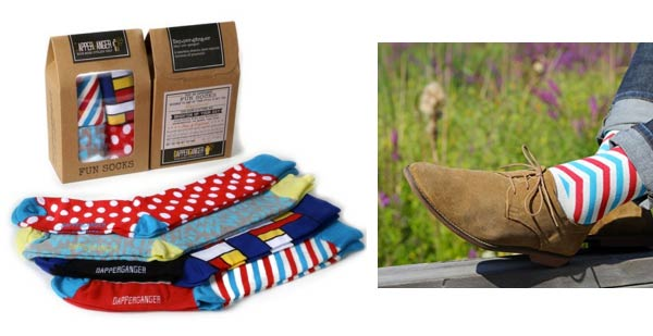 stylish gifts for him funky socks