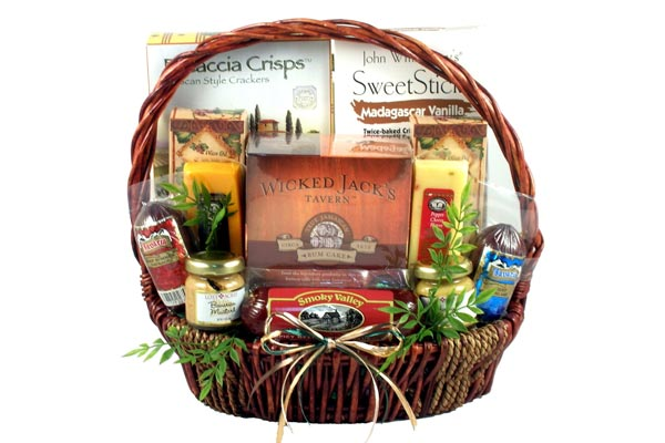gift baskets for men snacks