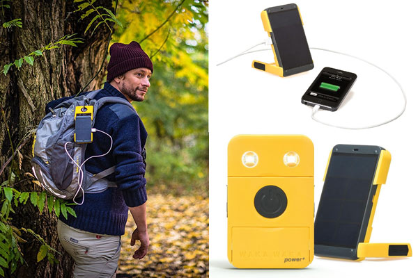 gifts under 100 for him solar charger
