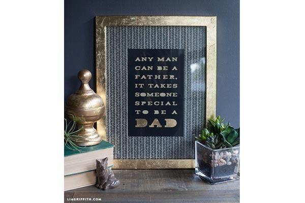 handmade gift ideas for him photo frame