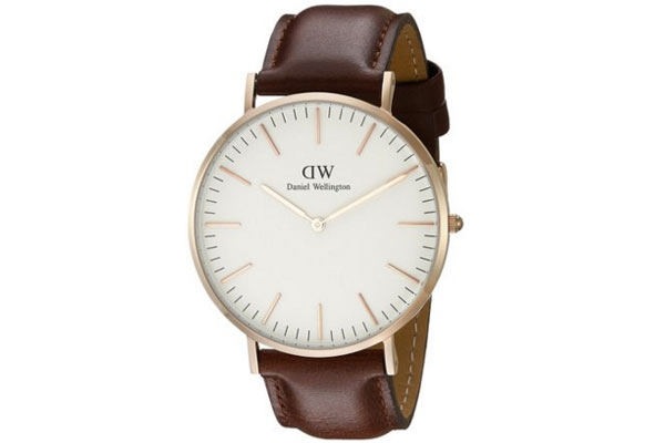 holiday gifts for men Daniel Wellington watch