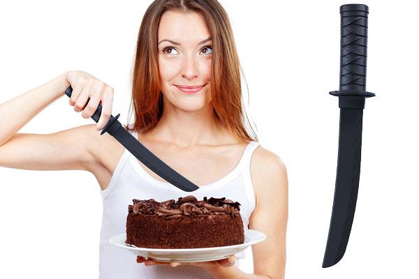 mens gifts under $25 samurai cake knife