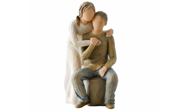 romantic birthday gifts for husband figurine
