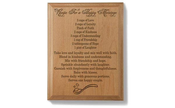 romantic birthday gifts for husband wooden plaque