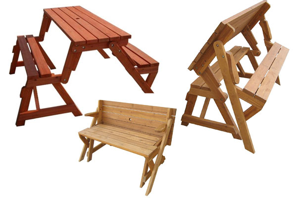 best gift for a man garden bench