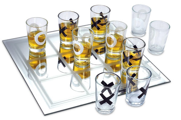 fun gifts for men tic tac toe game