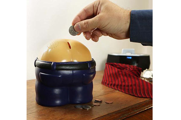 funny birthday gifts for him coin bank