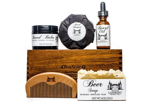 gifts to get your boyfriend for christmas beard kit